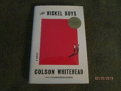 THE NICKEL BOYS, Colson Whitehead (signed 2019 HB 1st ed., near-excellent)