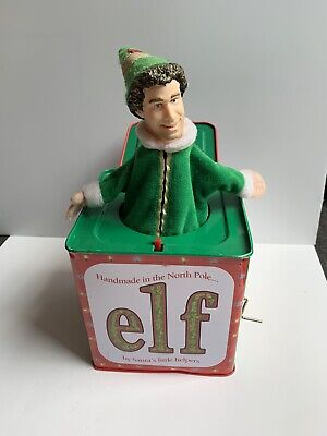 Buddy The Elf Movie Jack-In-The-Box Will Ferrell 2003