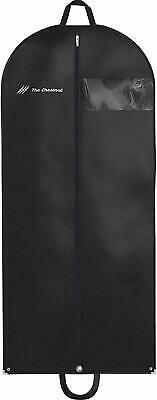 Garment Bag for Travel and Storage Hanging Black Suit Dress Carry On Cover