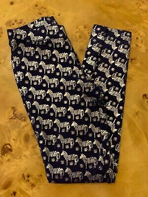 JCREW Crewcuts Cozy Zebra Leggings - girls size 10