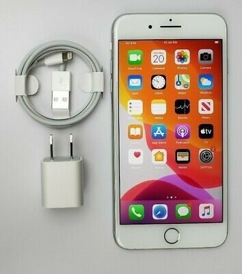 Apple iPhone 8 Plus 64GB Silver GSM Factory Unlocked A1897 Great