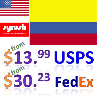 Package Forwarding Service from USA to Colombia Syrush Address Free Consolidatio