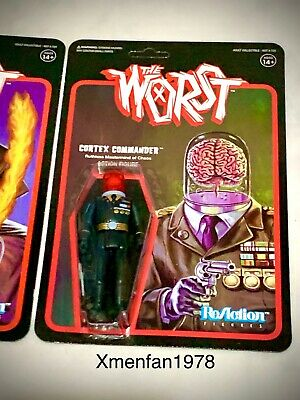 2019 Super7 The Worst Black//Grey X-2 THE UNKNOWN Mysterious Shadow Assassin MOC