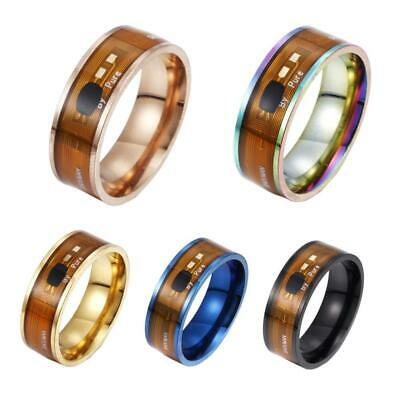 2019 Magic NFC Smart Ring Stainless Steel Wearable Phone For All Mobile And C7Z7