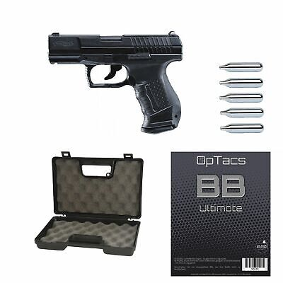 SET !!! Softair - Pistole - WALTHER P99 DAO CO2 GBB - ab 18, über 0,5 Joule