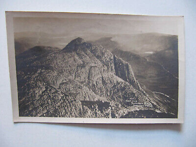 View from Langdale Pikes (Lake District) - Vintage Abraham Postcard