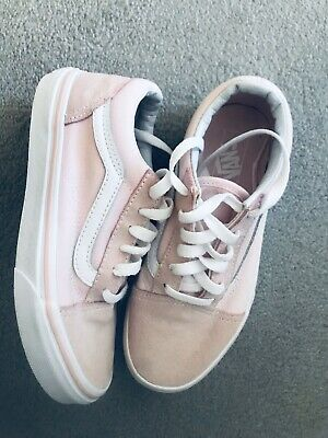 Girls vans trainers size 2