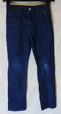 Boys Next Dark Blue Colour Wash Denim Regular Classic Fit Jeans Age 8 Years