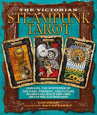 Victorian Steampunk Tarot Deck Cards Wiccan Pagan Metaphysical