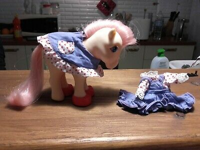 My little pony G1 Picnic in the park outfit wear Mio mini pony vintage