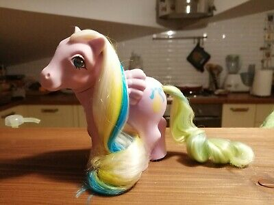My little pony G1 Curly Locks Brush 'n grow Mio mini pony vintage
