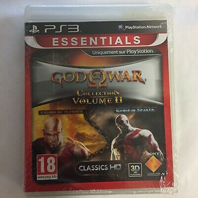 God Of War Collection Volume 2 Jeu PS3 Playstation 3 Neuf Sous Blister
