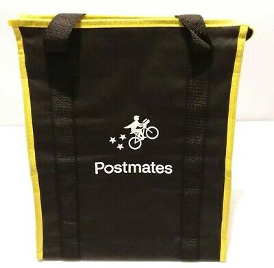 Postmates Insulated Food Delivery Bag carries Hot or Cold Items - New