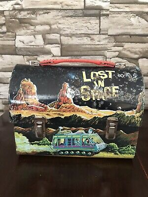 Vintage Lost In Space Metal Lunch Box