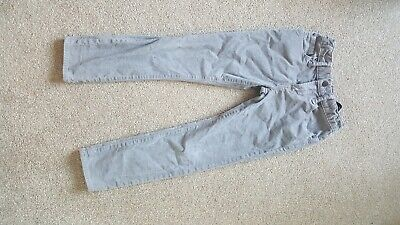 Gap Boys Corduroy Slim Trousers black and Grey Size 7 Years