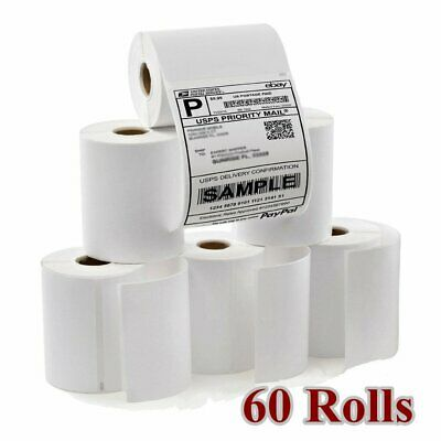 DYMO 60 Rolls 4x6 Direct Thermal Shipping Mailing Labels Compatible 1744907 4XL