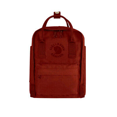 Fjallraven Mini Re-Kanken Ox Red - WINTER SALE!
