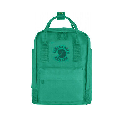 Fjallraven Mini Re-Kanken Emerald - WINTER SALE!