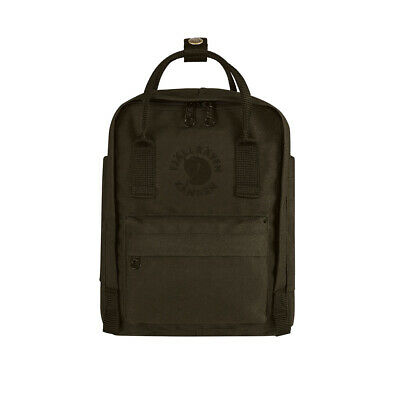 Fjallraven Mini Re-Kanken Dark Olive - WINTER SALE!