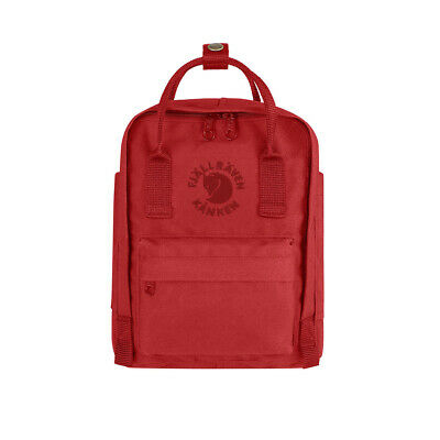 Fjallraven Mini Re-Kanken Red - WINTER SALE!