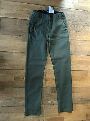 Boys H&M Chino Casual Trousers  Slim Fit Age 12-13