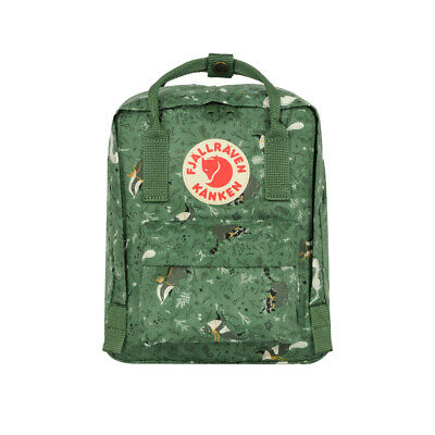 Fjallraven Kanken Art Mini Backpack Green Fable             - WINTER SALE!