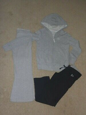 NEXT Girls 7 years jogging bottoms and hooded zipped jacket