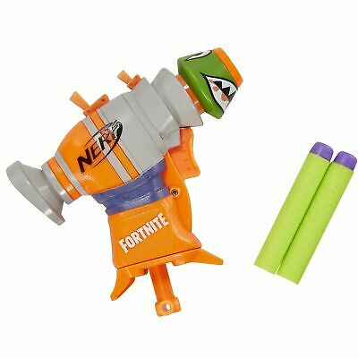 Nerf Fortnite Micro RL Shots Toy Blaster w/ 2 Official Elite Darts by Hasbro NEW