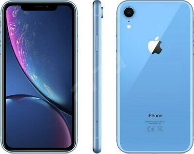 *MINT* T-Mobile Apple iPhone XR 64GB Blue A1984 4G LTE Smart Video Cell Phone