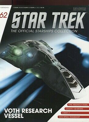 Star Trek Official Starship Collection Number 62 - VOTH Research Vessel