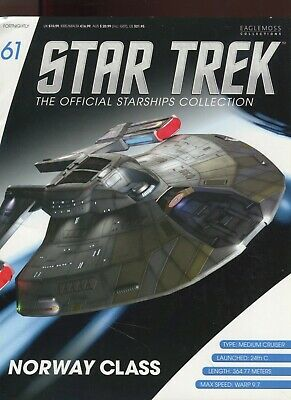 Star Trek Official Starship Collection Number 61 - Norway Class