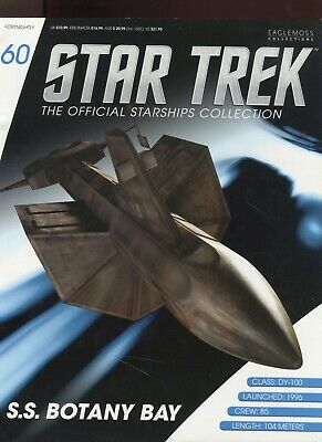 Star Trek Official Starship Collection Number 60 - S.S. Botany Bay -Free Postage
