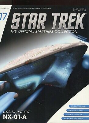 Star Trek Official Starship Collection Number 17 - U.S.S. Dauntless
