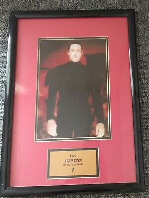 Star Trek Lore picture in frame