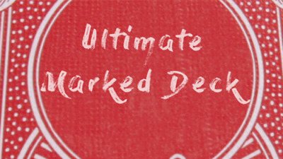 Ultimate Marked Deck (RED Back Bicycle Cards) - Magic Tricks
