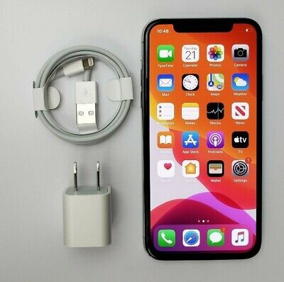 Apple iPhone X 64GB Silver GSM Unlocked A1901 - No Face ID Great Condition