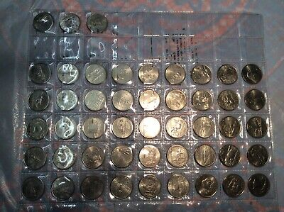 USA State Quarter Total 50 States, Only 48 Available, Used In Good Condition