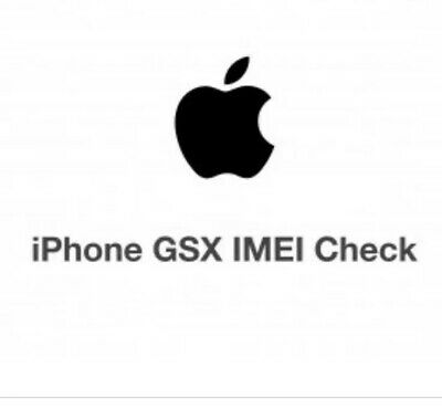 Apple Iphone Gsx Carrier Lock Check By Imei 1-24 Hours Please Read