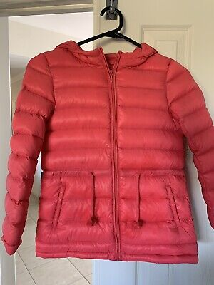 Kids Feather Down Jacket Girls Size 8