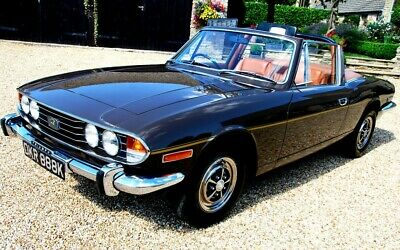 A Lovely Original Unrestored 1972 Mk1 Triumph Stag Automatic Just 51,Oo0 Miles.