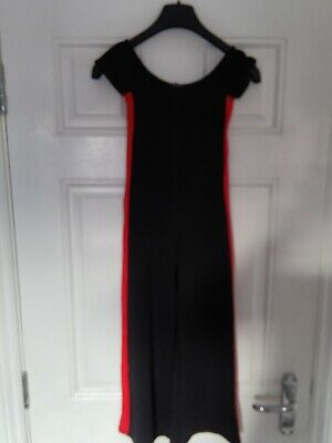 New Look Black Bardot Style Cullotte Jumpsuit Age 9