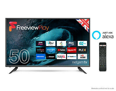 """CELLO 50"""" inch SMART FULL HD LED TV WITH HDMI, USB AND ALEXA VOICE ACTIVATION"""