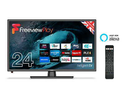 """CELLO 24"""" inch SMART LED TV WITH HDMI, USB AND ALEXA VOICE ACTIVATION 2020 MODEL"""