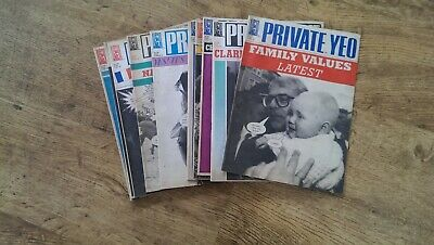 Private Eye Magazine Job Lot 10 issues from 1994