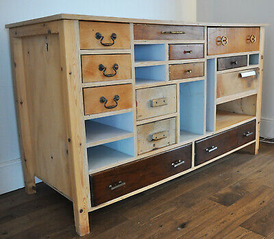 Upcycled Chest of Vintage Drawers Antique Storage