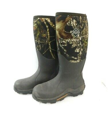 Muck Boot Woody Max Rubber Insulated Men's Hunting Boot, Mossy Oak, Size 9 MENS