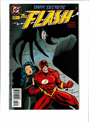 Flash DC Comics #103 VF+ 8.5 Fastest Man Alive Wally West Justice League 1995