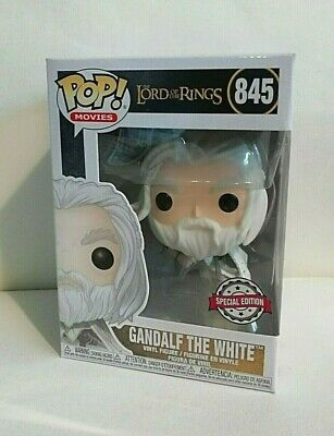 Funko Pop! Movies: Lord Of The Rings - Gandalf The White Spec.ed #845 *Uk Stock*