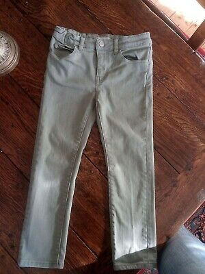 ARKET Little Boys' Green Jeans Size 116 / 5Yrs