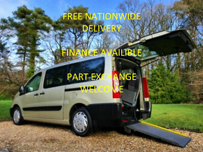 Peugeot Expert Tepee Wheelchair Accessible Vehicle + Two Wheelchairs + 6 Seats